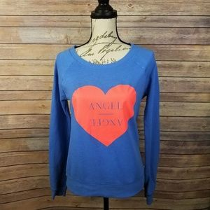VICTORIA'S SECRET Angel Heart Crewneck Sweatshirt